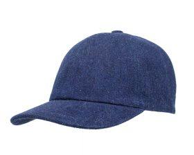 Cappello da Baseball Estivo Jeans Cotone Blu